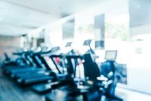 Defocused Image Of Gym
