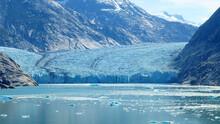 Scenic View Of Hubbard Glacier