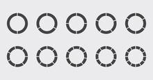 Circle Chart Section Segments ...