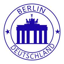 Cachet Berlin - Allemagne - Porte De Brandebourg