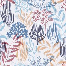 Ocean Corals Seamless Pattern....