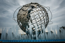 Fountain In City Of New York A...