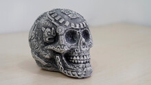 MEXICAN SKULL, MEXICAN ART,  DAY OF THE DEAD, MEXICAN TRADITION