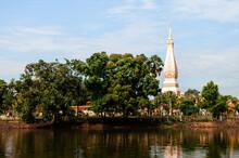 Wat Phra That Phanom, Most Sacred Temple Of Nakhon Phanom - Thailand
