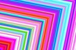 canvas print picture - colorful lines background