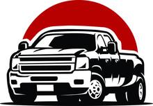 Diesel Truck Dually Pickup Vec...