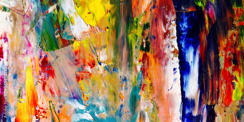 Fotografie, Obraz Colorful abstract background wallpaper