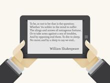 Ibook Reader In Human Hands. W...