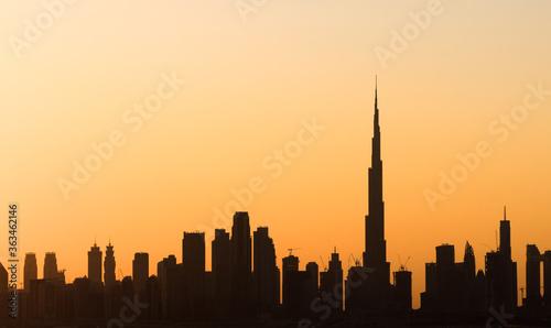 Fototapety, obrazy: Dubai Skyline