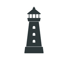 Lighthouse Icon. Simple Lighth...