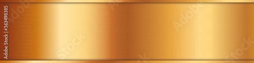 Fotografía vector textur of metal gold plate surface background