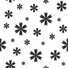 Seamless Pattern With Cornflow...
