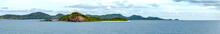 Panoramic View Of Sea Against ...