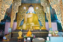 Buddha Statue At Wat Chong Kla...