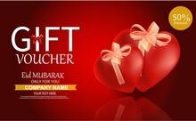 Gift Voucher Templates. Set Of...