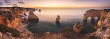 Costa Del Algarve, Portugal, A...