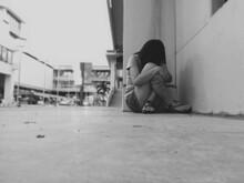 Full Length Of Depressed Teena...