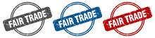 Fair Trade Stamp. Fair Trade S...