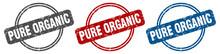Pure Organic Stamp. Pure Organ...