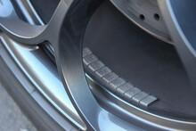 Balancing Weights On Alloy Wheel