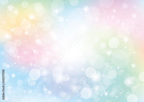 Fototapeta キラキラと光る抽象的な背景