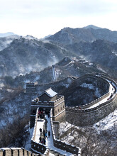 Aerial View Of Great Wall Of C...