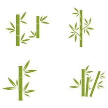 Bamboo Icon Symbol Illustratio...