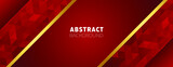 Abstract premium background design with geometric shapes