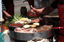 Street Food Rich Tacos With To...