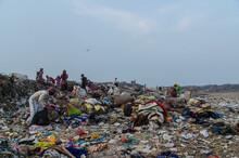 Landfill In New Delhi India