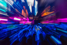 Abstract Background, Radial Bl...