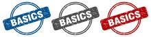 Basics Stamp. Basics Sign. Bas...