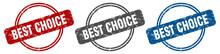Best Choice Stamp. Best Choice...