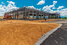 Construction Site Of New Commercial Development