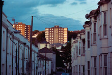 Brighton Architecture Blue Hour
