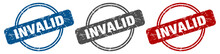 Invalid Stamp. Invalid Sign. Invalid Label Set