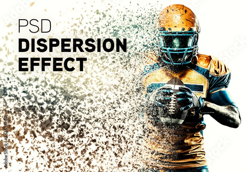 Obraz Dispersion Photo Effect - fototapety do salonu