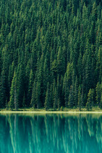 Beautiful Lake In Banff Nation...