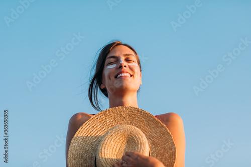 A Girl on the Beach - 363658385
