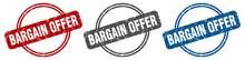 Bargain Offer Stamp. Bargain O...