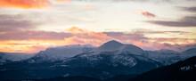 Beautiful Mountain Range Durin...
