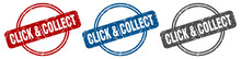 Click & Collect Stamp. Click &...