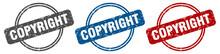 Copyright Stamp. Copyright Sig...