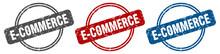 E-commerce Stamp. E-commerce S...