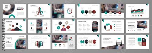 Valokuvatapetti Presentation flyer set