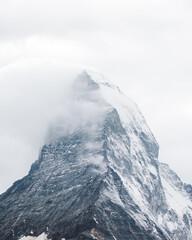 Obraz na Szkle Góry Scenic View Of Snowcapped Mountains Against Sky