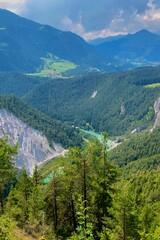 Fototapeta na wymiar Scenic View Of Mountains Against Sky