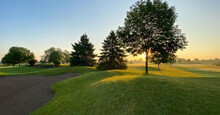 Sunrise On The Golf Course San...