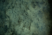 Green Mortar Background Texture, Crack Wall Background, Concrete Texture