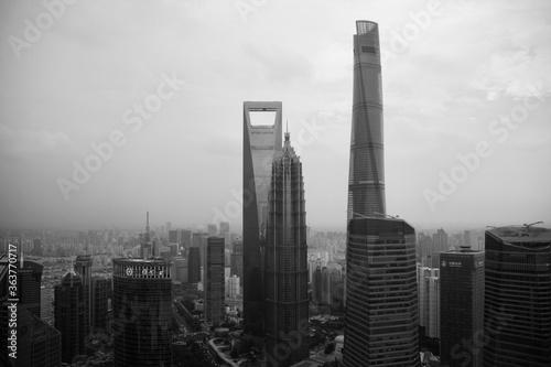 Fototapeta Cityscape Of Shanghai, China obraz